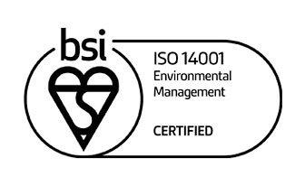 BSI - ISO 14001 Certified Railway Industry Supplier